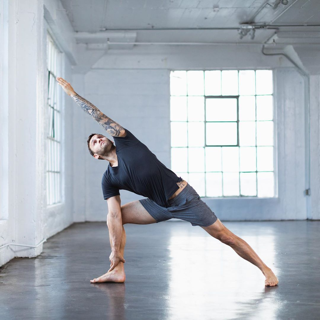 What actual yoga for athletes SHOULD look like, get at me - Calvin Corzine Yoga