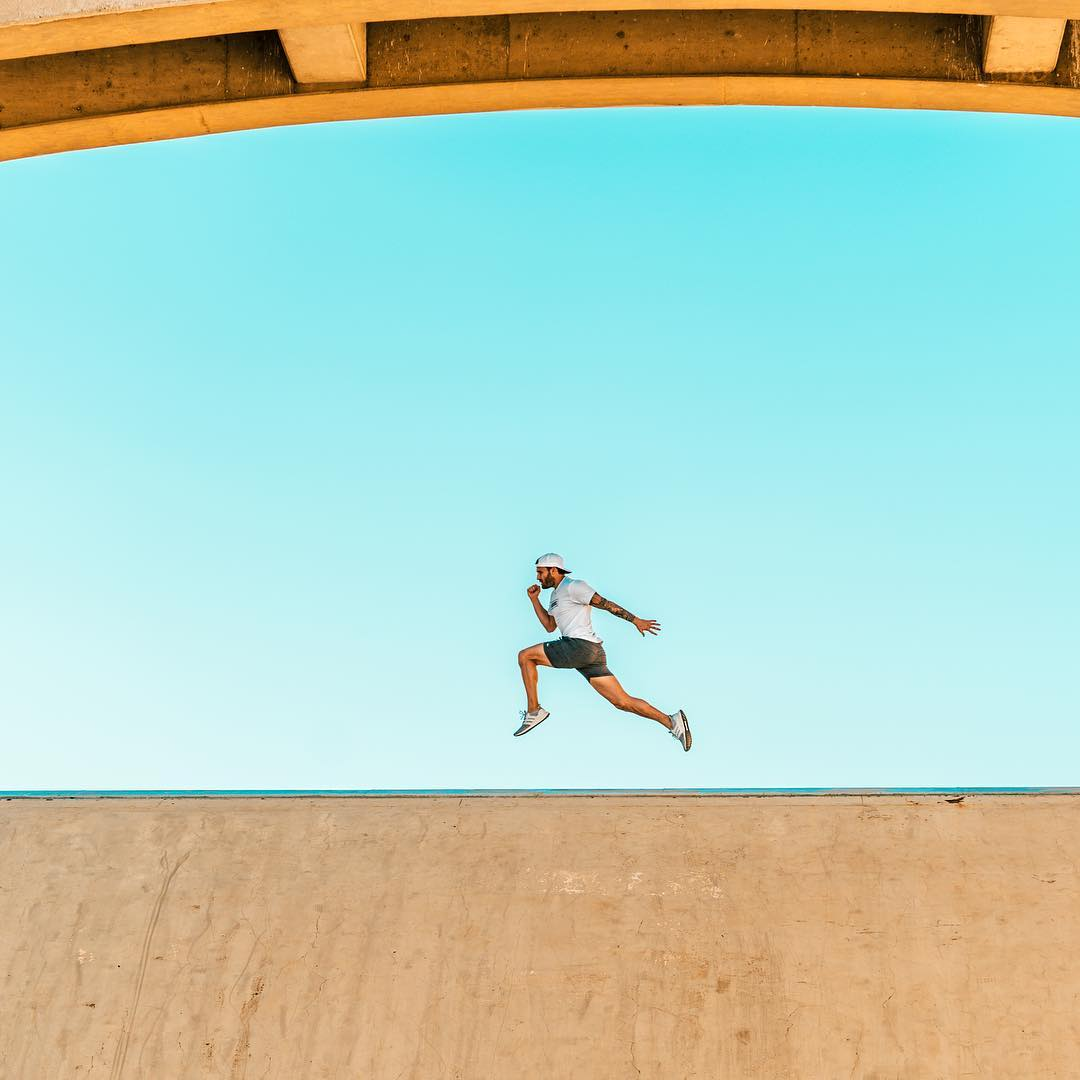 You'd be in better shape if you ran as much as your mouth - Calvin Corzine Yoga