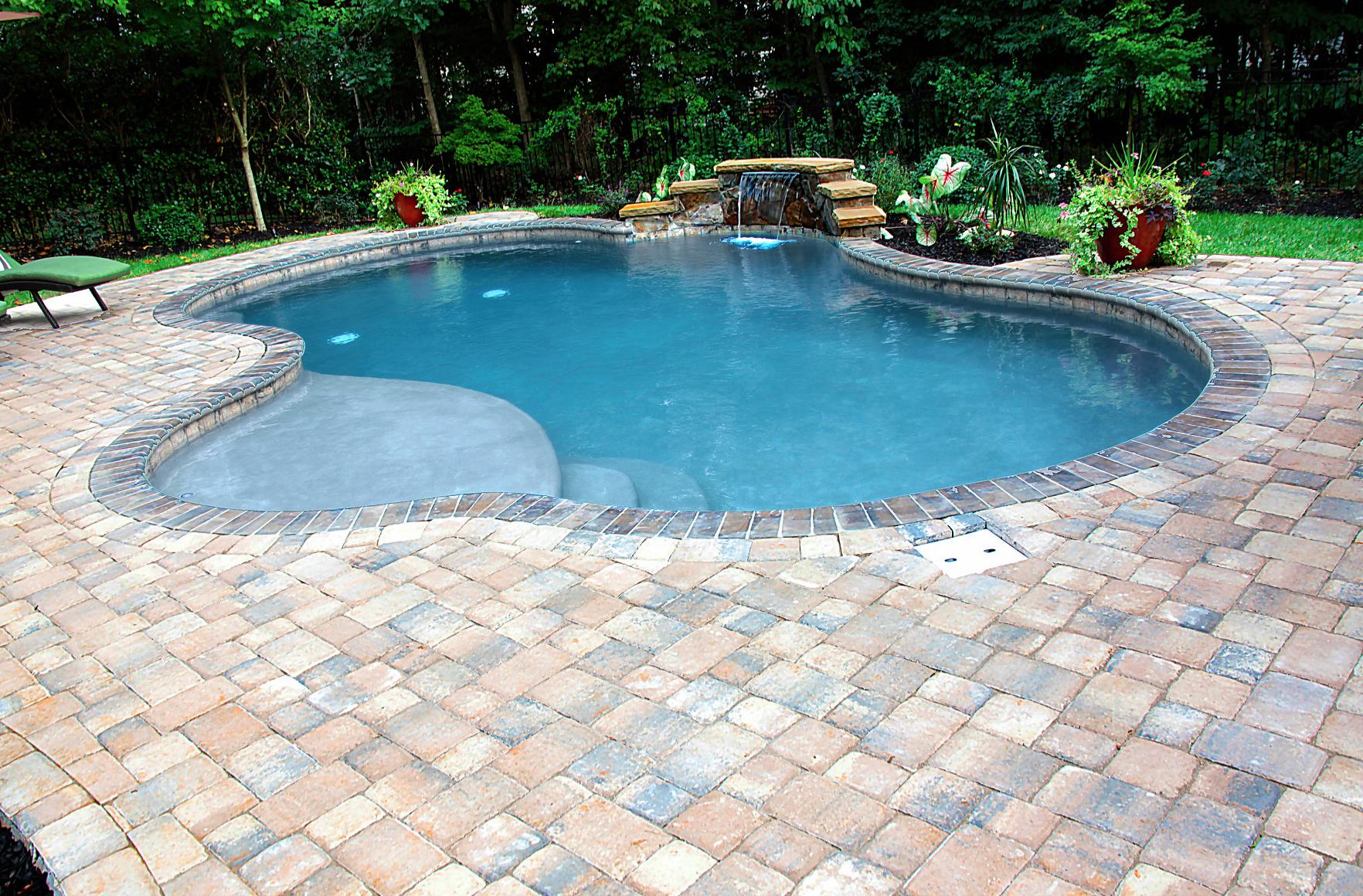 Corneilus Concrete Inground Pools Installed By CPC Pools in North Carolina 704-799-5236