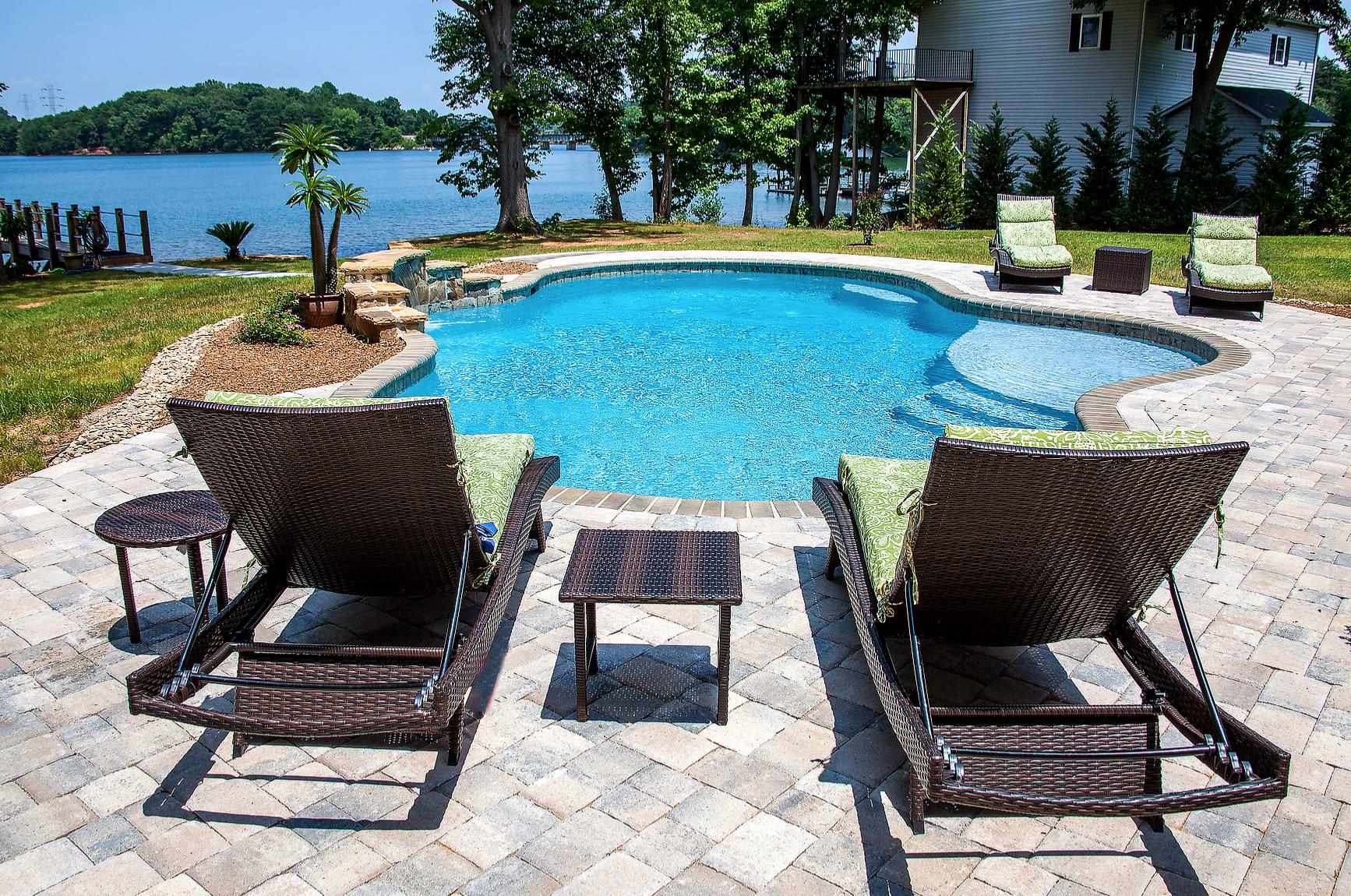 Cornelius North Carolina Inground Concrete Pool Installation Services Call 704-799-5236