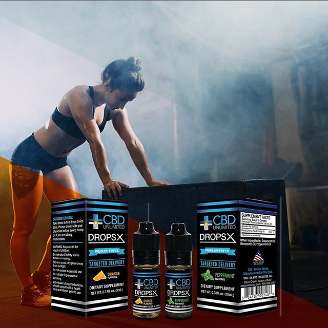 Keep your workout smooth and recover better, use CBD Drops from CBD Unlimited