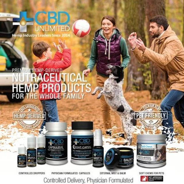 Our Premium Blue Line has been embraced by retailers across the nation - CBD Unlimited