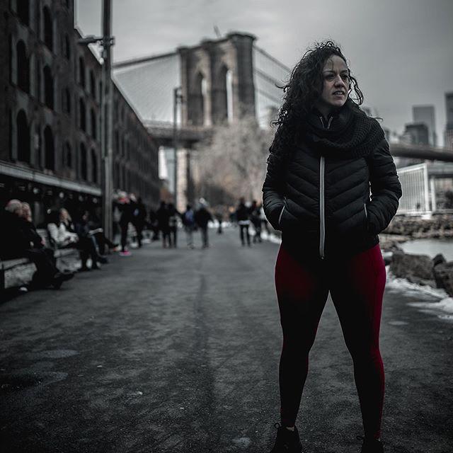 Jennifer Morales Atlanta to New York shot of Brooklyn Bridge