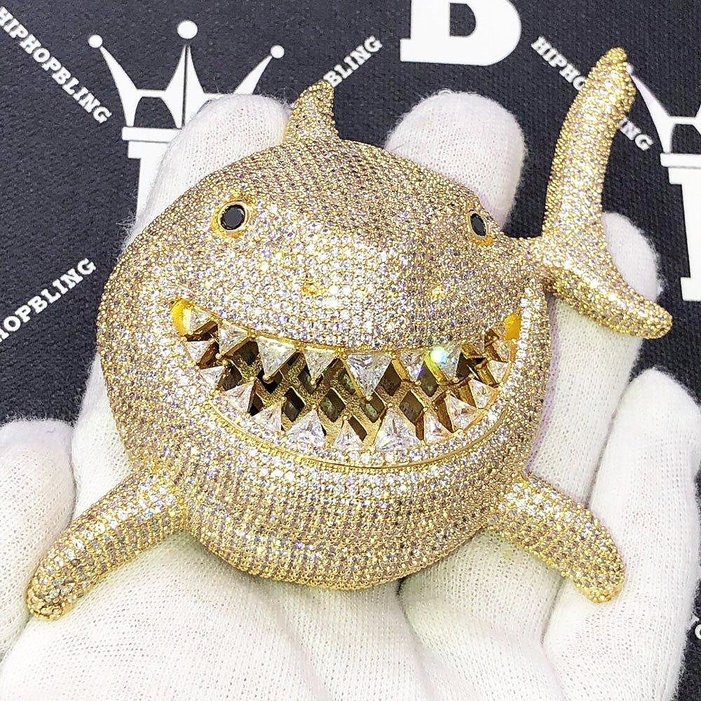 Custom jewelry inspired by Tekashi 6ix9ine from HipHopBling.com