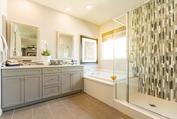 Bathroom Renovation with Custom Vanities Woodworking Services Savannah GA 912-481-8353
