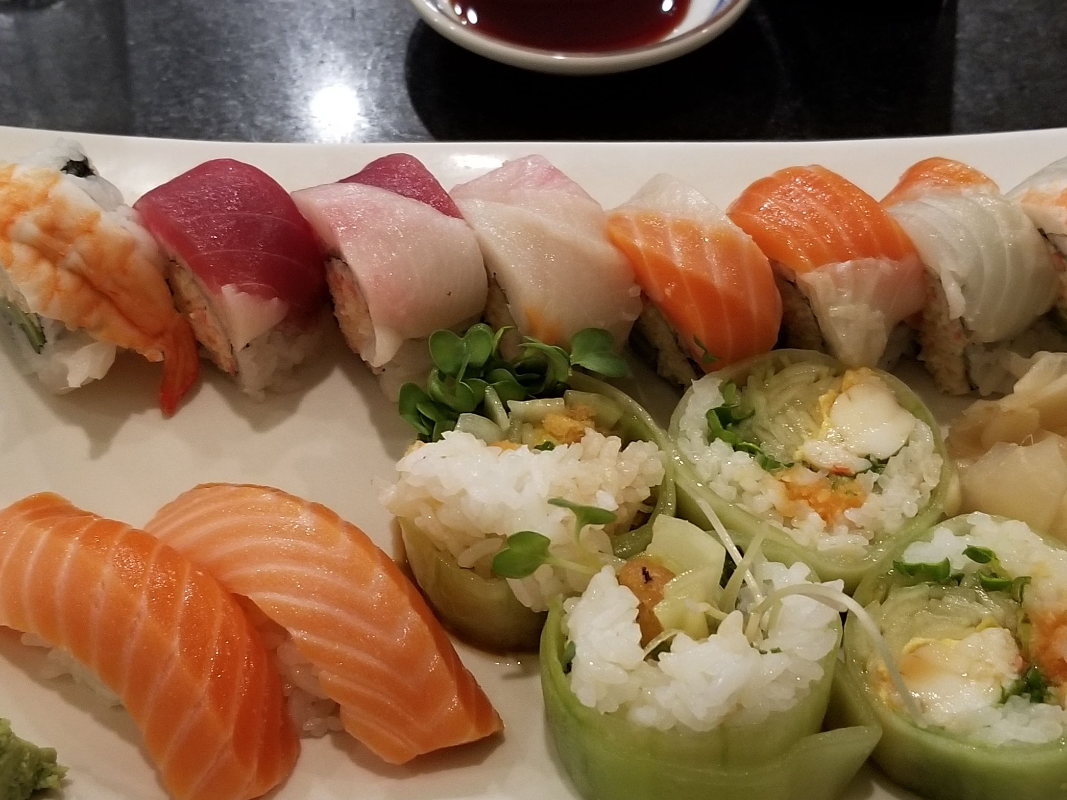 Sushi in Brentwood California