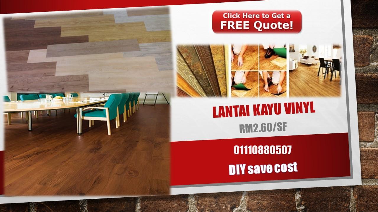 Harga Vinyl Flooring Malaysia
