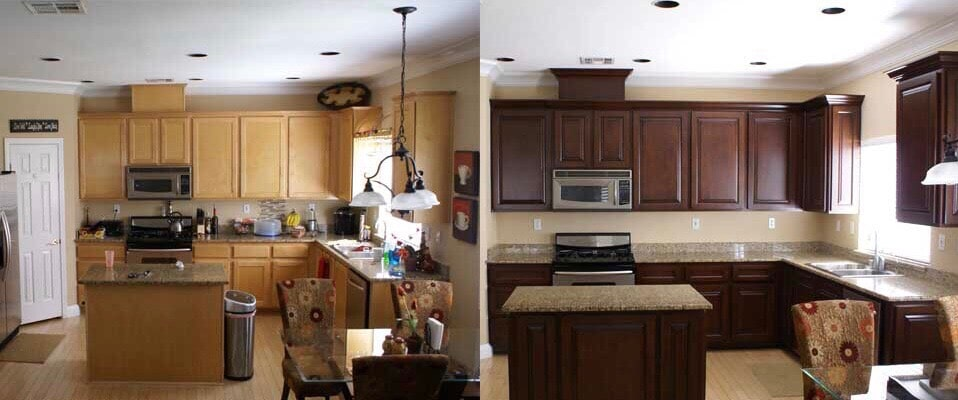Best in Atlanta Kitchen Cabinet Refacing Call us Today 770 218 3462