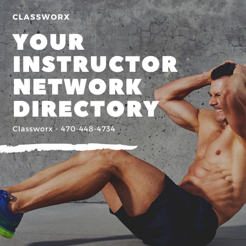 Offer Remote Classes Virtually to Students on Classworx Virtual Instructor Directory 470-448-4734