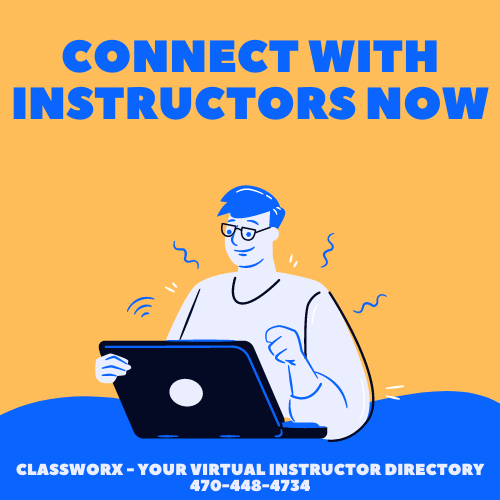 Connect with Students Worldwide Virtual Instructor Directory Classworx 470-448-4734