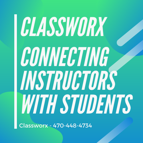 Best Virtual Instructor Directory Classworx Offer Classes to Students 470-448-4734