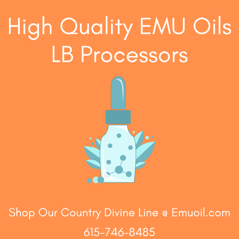 High Quality EMU Oils For Sale Online LB Processors 615-746-8485