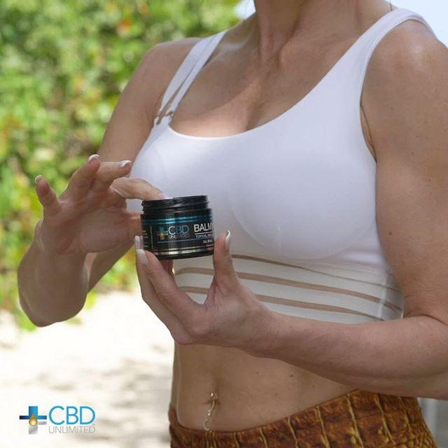 Soothe your aches with Balm-X from CBD Unlimited