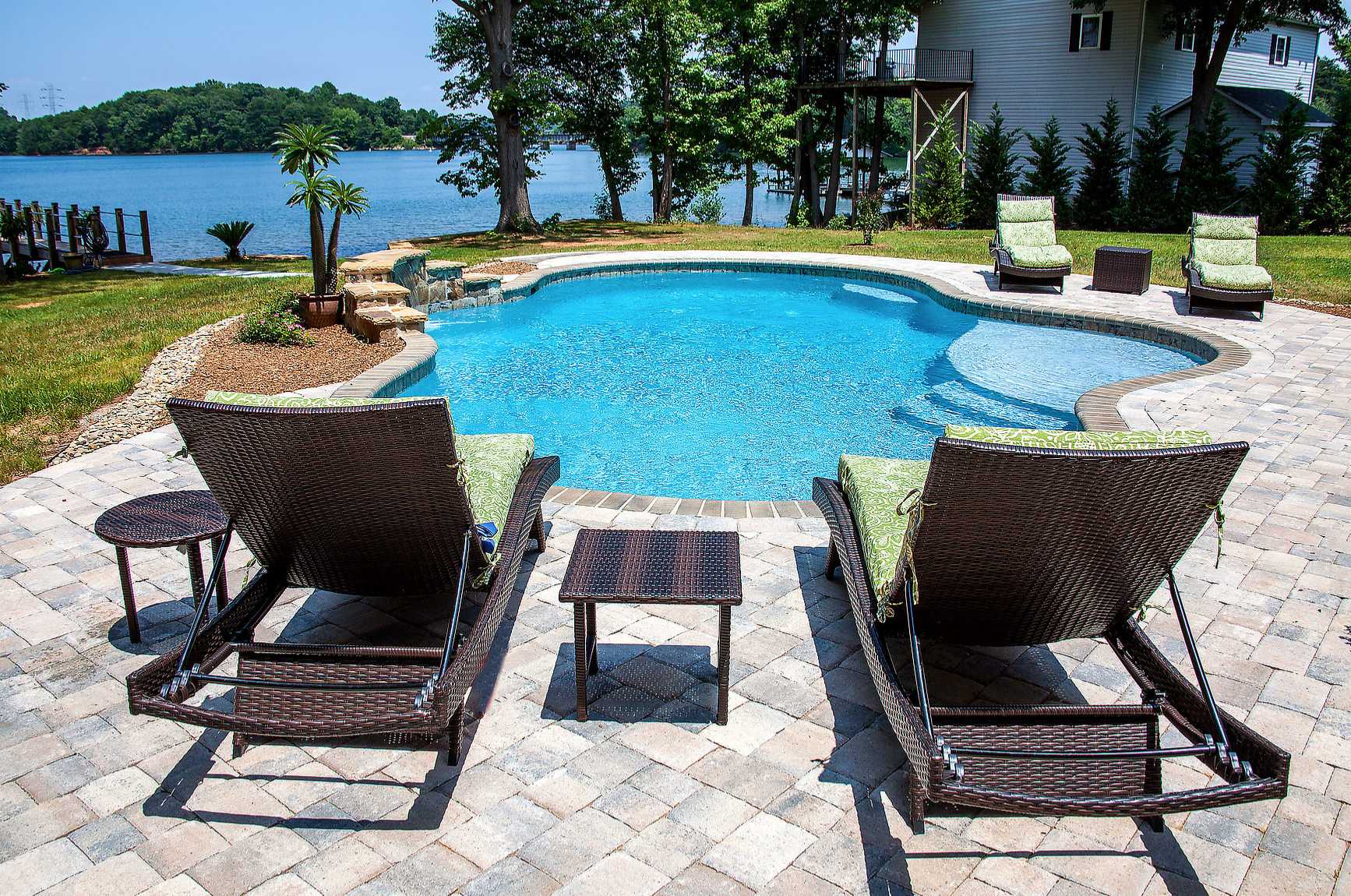 Lincolnton North Carolina Inground Concrete Pool Installation from CPC Pools Call us at 704-799-5236