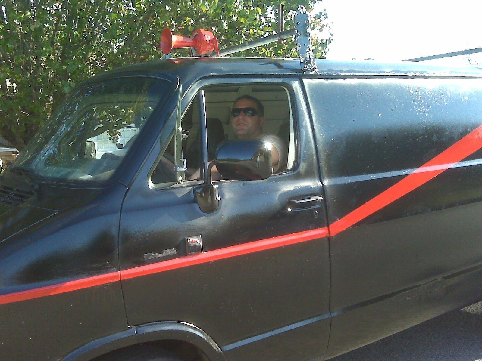 My old ATeam van
