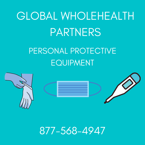 Best Wholesale PPE Supplies Masks Gloves Thermometers Global WholeHealth Partners 877-568-4947