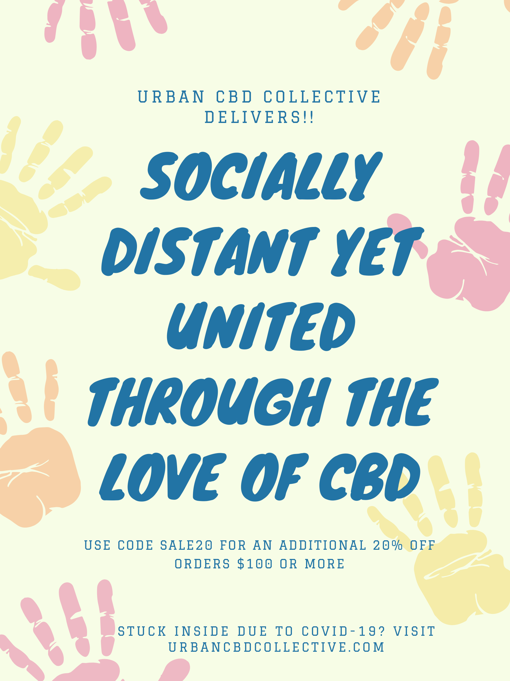 At Urban CBD Collective We love Premium Hemp CBD Products