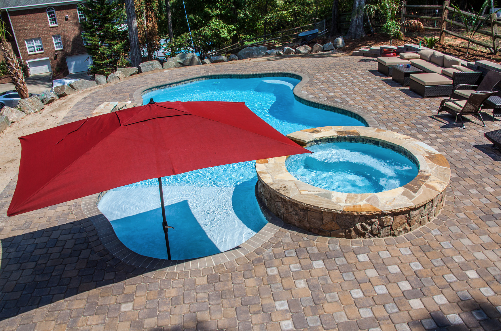 CPC Pools Installs High End Concrete Inground Pools in Denver North Carolina 704-799-5236