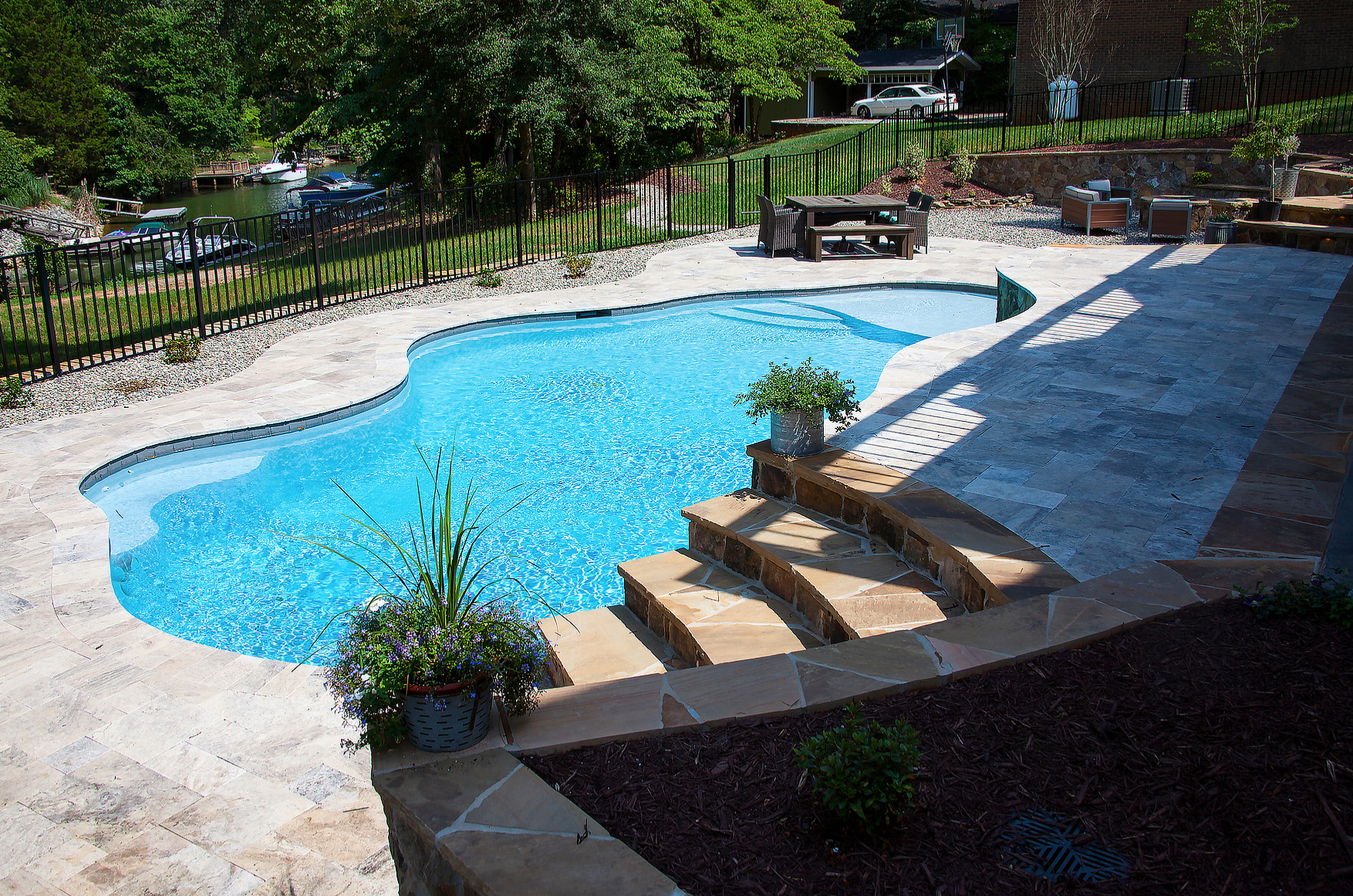Custom Inground Concrete Pool Installation Services from CPC Pools in Denver NC 7047995236