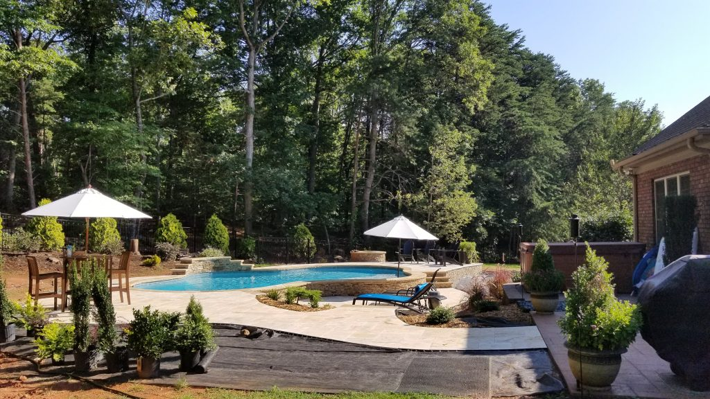 Start your inground concrete pool build in Denver NC with CPC Pools