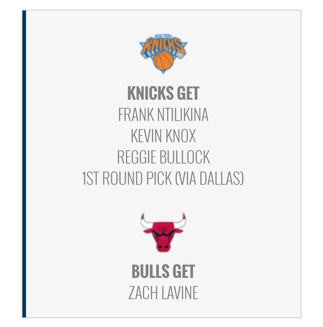 I think the Knicks and Bulls have these players