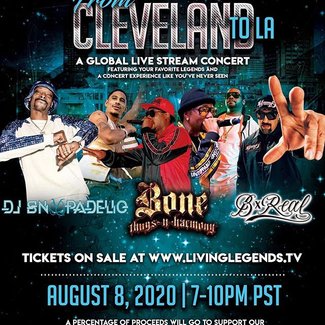 This Saturday Aug 8th it's ON with living legends - Layzie Bone