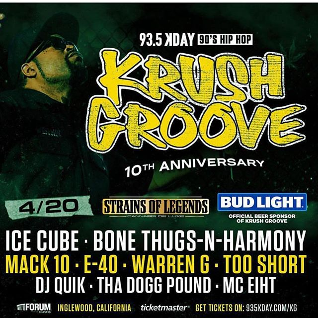 Bout to go DOWN, Krush Groove 2019 with Ice Cube, Bone Thugs -n- Harmony and more - Layzie Bone