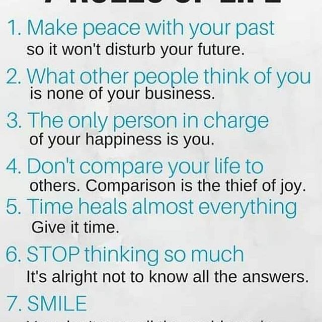 7 Rules to Life living peacefully, read up and live fam - Layzie Bone