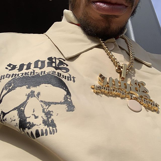 Eyes up, solid gold at LayzieGear.com, we're on FIRE - Layzie Bone