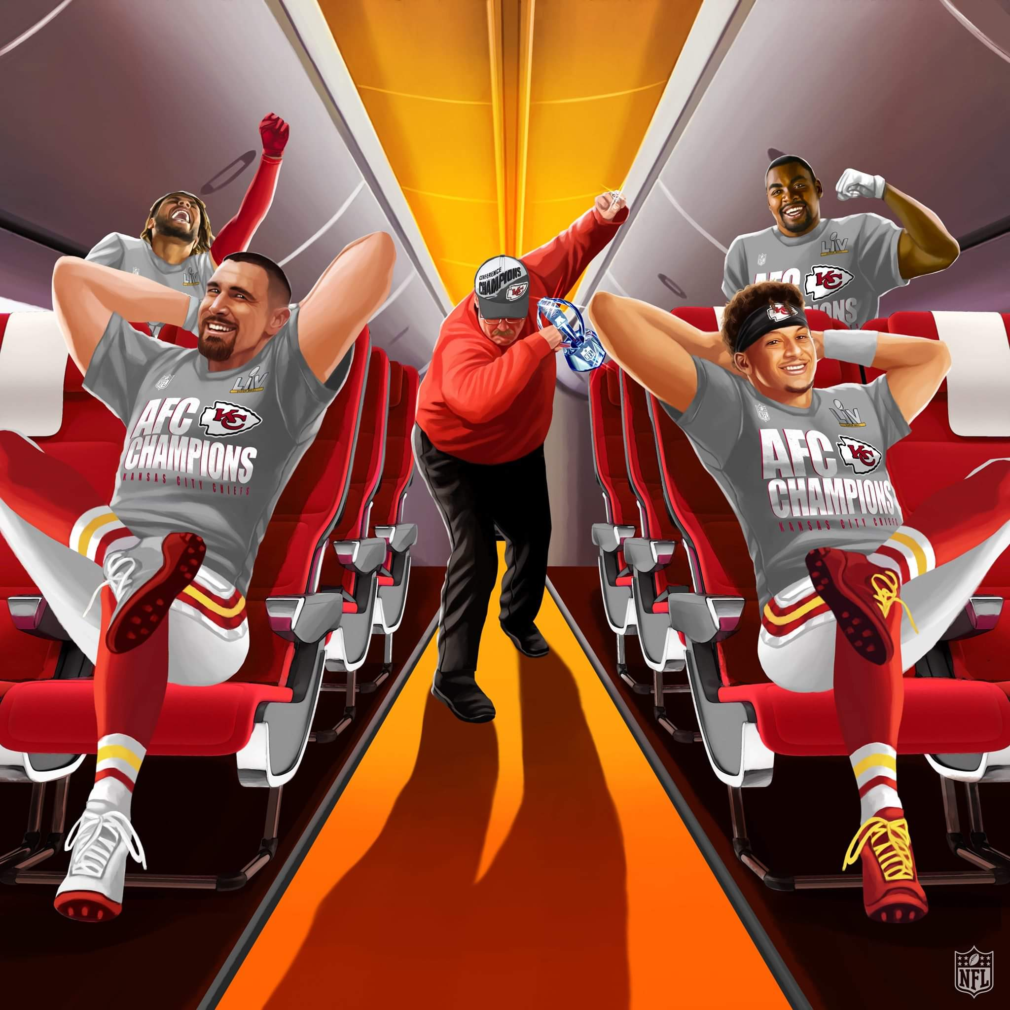 The Kansas City Chiefs are BACK in the Super Bowl!!!!