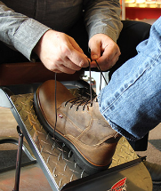 Aluminum Toe boot protection for women