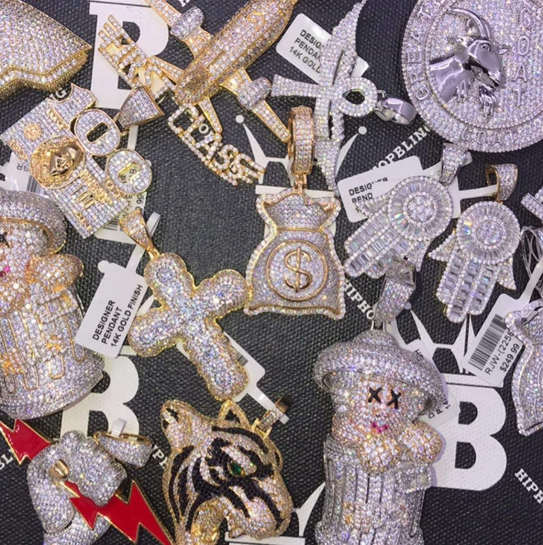 New limited edition pendants on sale at Hip Hop Bling, peep on our website