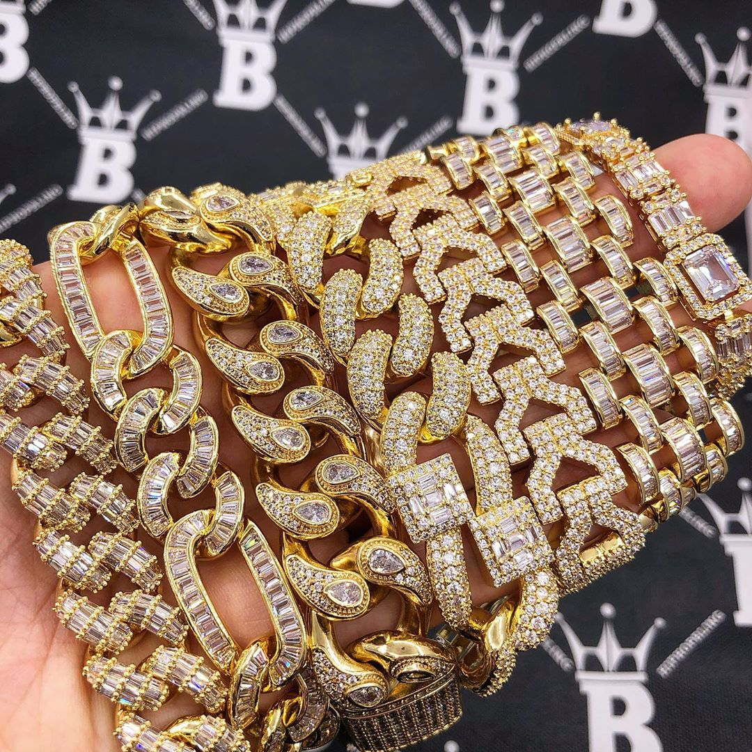 Brand new wristwear, beautiful iced out pieces only from HipHopBling.com