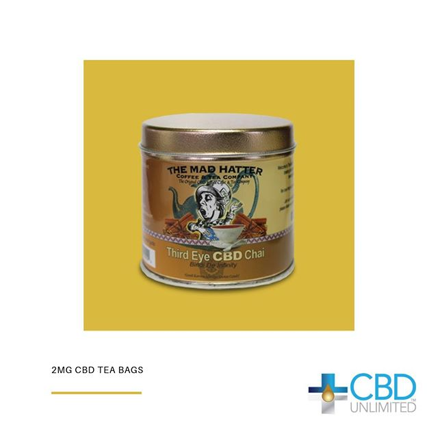 Get through the week with CBD infused chai tea from CBD Unlimited.