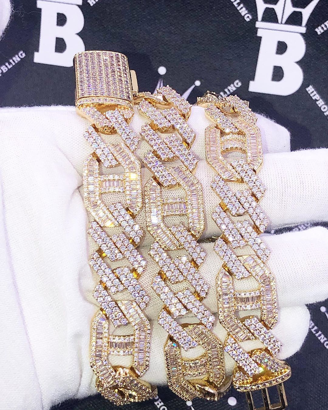 Order your own iced out chains and custom jewelry today from HipHopBling.com