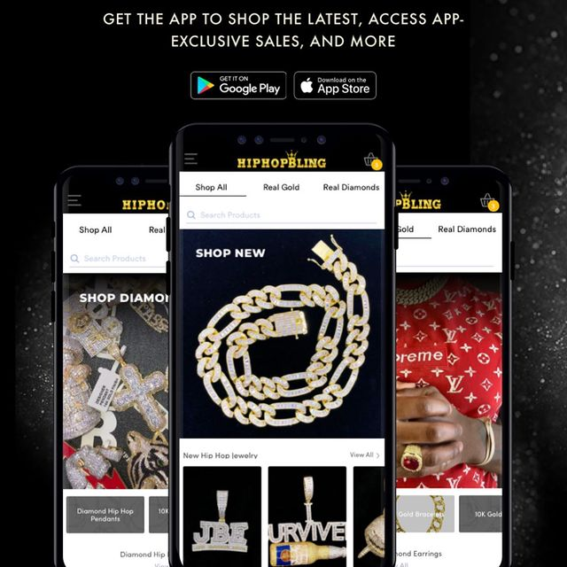 New app, who dis? Download our new app today and get 35% savings! - HipHopBling.com