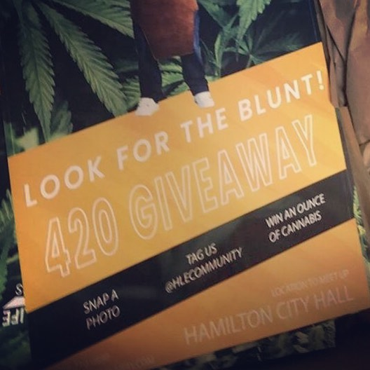 Spot this card, get a free oz of fine cannabis! Hip Hop Bling TV
